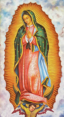 Photograph - Our Lady Of Guadalupe by Munir Alawi