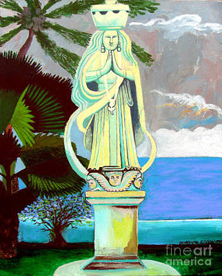 Our Lady Of Guam Original by Genevieve Esson