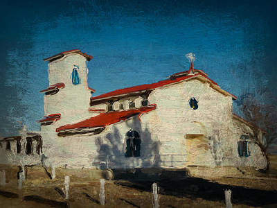 Photograph - Our Lady Of La Salette Mission Paint by Tatiana Travelways