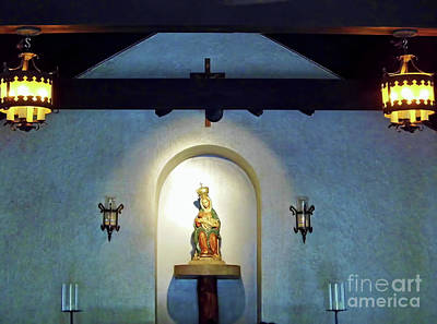 Photograph - Our Lady Of Le Leche by D Hackett