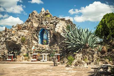 Photograph - Our Lady Of Lourdes Grotto by Imagery by Charly