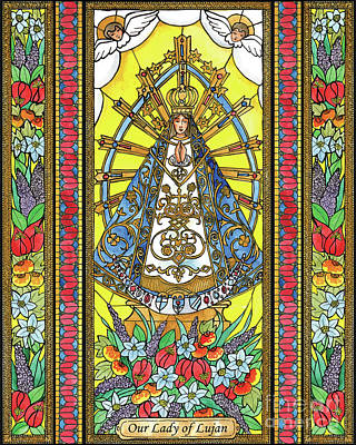 Painting - Our Lady Of Lujan by Brenda Nippert