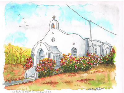 Our Lady Of Mount Carmel Catholic Church, Carmel,california Original