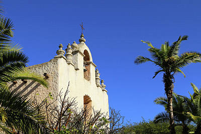 Our Lady Of Mt Carmel Photograph - Our Lady Of Mount Carmel - Montecito by Art Block Collections