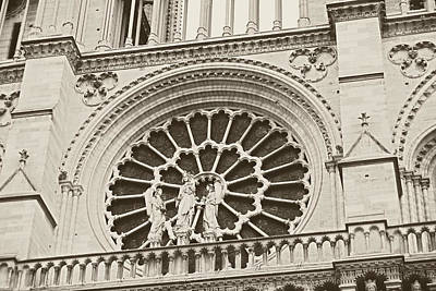 Our Lady Of Paris Art Print by JAMART Photography