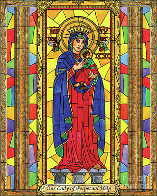 Painting - Our Lady Of Perpetual Help by Brenda Nippert