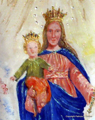 Our Lady Of Perpetual Help Art Print by Patricia Ducher