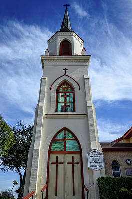 Photograph - Our Lady Of Refuge Church by Debra Martz