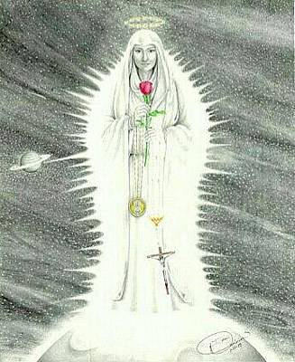 Our Lady Of Revelation Original by Mark Tyra