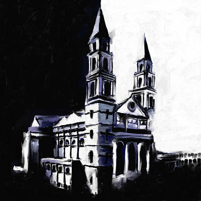 Painting - Our Lady Of Sorrows Basilica, East Garfield Park 531 1 by Mawra Tahreem