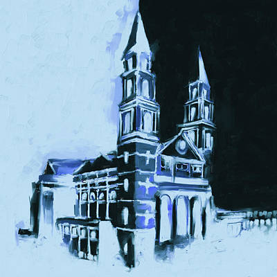 Painting - Our Lady Of Sorrows Basilica, East Garfield Park 531 4 by Mawra Tahreem