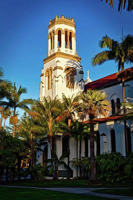 Our Lady Of Sorrows Church - Santa Barbara California Art Print by Mountain Dreams