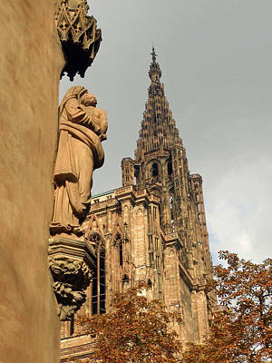 Photograph - Our Lady Of Strasbourg by Jean Hall