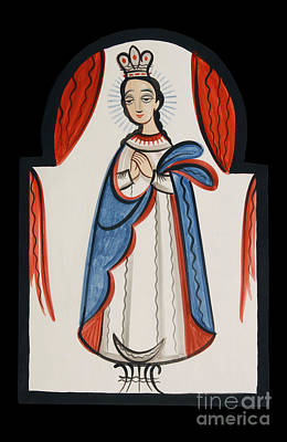 Painting - Our Lady Of The Immaculate Conception - Aooli by Br Arturo Olivas OFS