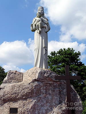 Photograph - Our Lady Of The Shrine by Ed Weidman