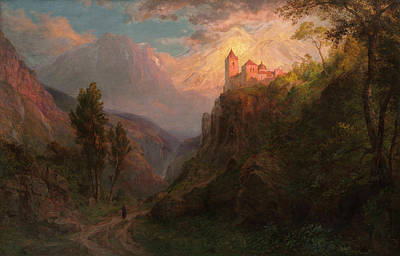 Monastery Painting - Our Lady Of The Snows by Frederic Edwin Church