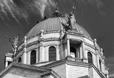 Historic Architecture Photograph - Our Lady Of Victory Basilica 2 by Peter Chilelli