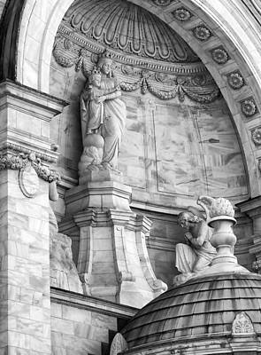 Historic Architecture Photograph - Our Lady Of Victory Basilica 3 by Peter Chilelli