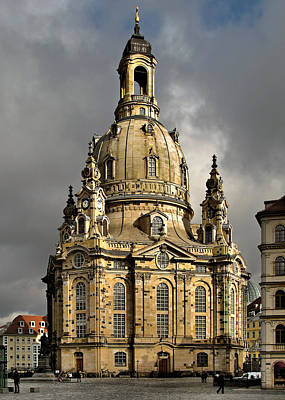 Photograph - Our Lady's Church Of Dresden by Christine Till