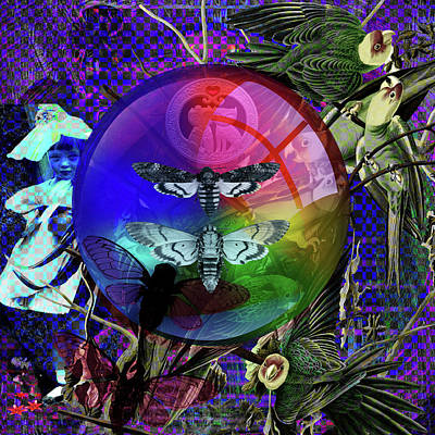 Digital Art -  Our Life Spectrum by Joseph Mosley