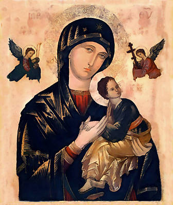 Our Mother Of Perpetual Help Art Print