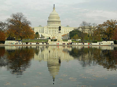 Photograph - Our Nation's Capitol by Emmy Vickers