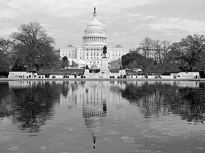 Photograph - Our Nation's Capitol - Washington Dc  by Emmy Marie Vickers