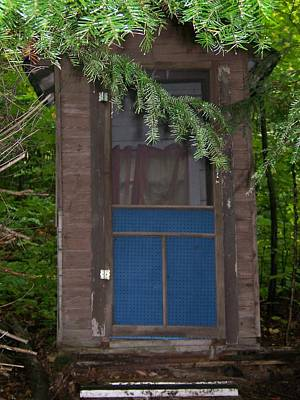 Our Outhouse - Photograph Original