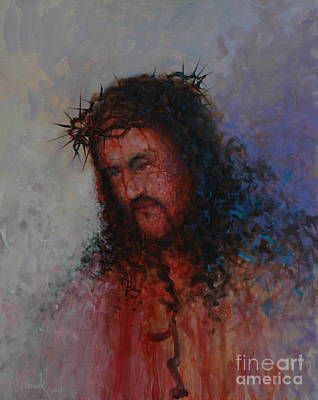 Our Precious Savior Art Print by Michael Nowak