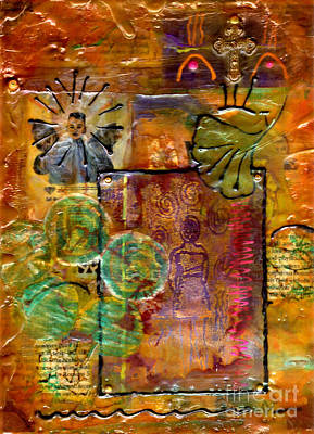 Mixed Media - Our Salvation by Angela L Walker