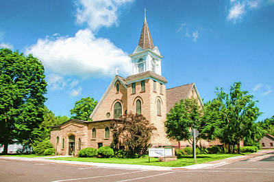 Photograph - Our Saviors Lutheran Church by Trey Foerster