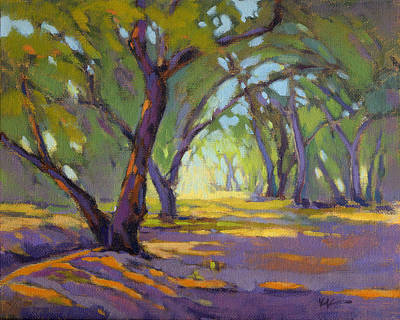 Painting - Our Secret Place 4 by Konnie Kim