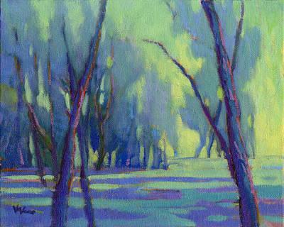 Painting - Our Secret Place 7 by Konnie Kim