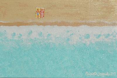 Painting - Our Secret Spot by Elizabeth Langreiter