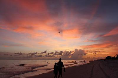 Beach Photograph - Our Sunset by Mesa Teresita