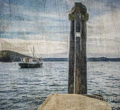 Photograph - Out To Sea by William Wyckoff