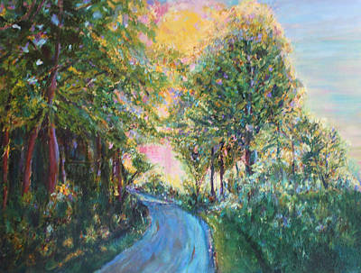 Painting - Our Trail by Christiane Kingsley