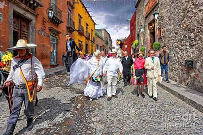 Photograph - Our Wedding Walk by John Kolenberg