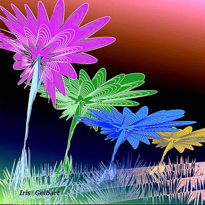 Digital Art - Our Wonderland #2 by Iris Gelbart