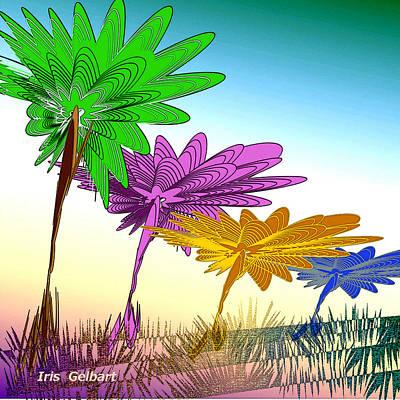 Digital Art - Our Wonderland by Iris Gelbart