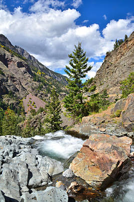 Photograph - Ouray Canyon by Ray Mathis