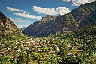 Photograph - Ouray City View by Linda Unger