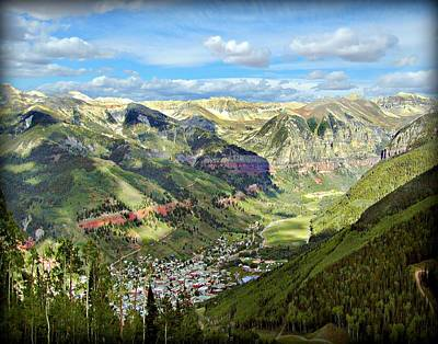 Photograph - Ouray Colorado Valley by Dale Paul