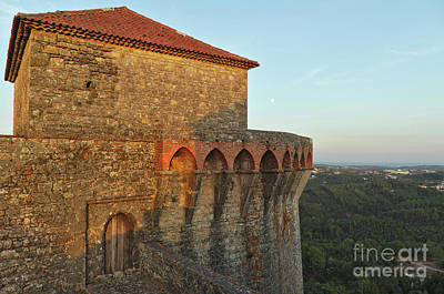 Europe Photograph - Ourem Castle. Santarem, Portugal by Angelo DeVal
