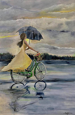 Painting - Out Chasing My Own Dreams by Nancy Hilliard Joyce