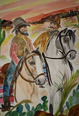 Painting - Out For A Ride by Susan Snow Voidets