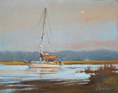 Painting - Out For The Evening by Todd Baxter