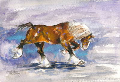 Out Front Art Print by Mary Armstrong