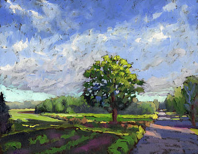 Painting - Out In The Fields With God by Marla Laubisch