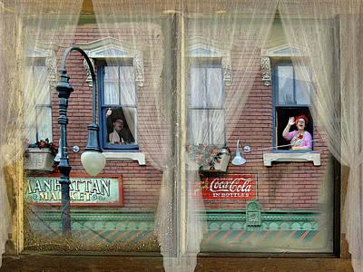 Out My Window - New York Art Print by Jeff Burgess